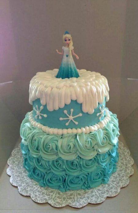 bolo frozen fácil de fazer para aniversário