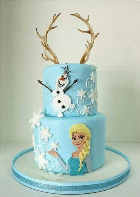 bolo frozen para aniversário criativo dicas