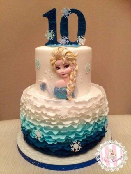 bolo frozen para aniversário dicas