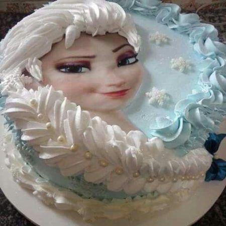 bolo frozen para aniversário fácil de fazer