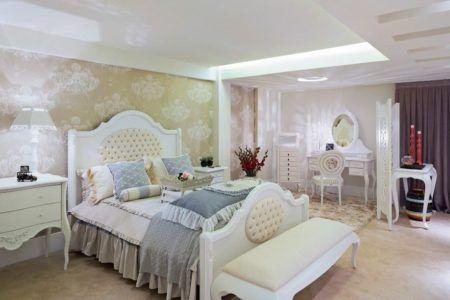 decoração com estilo provençal para quarto de casal