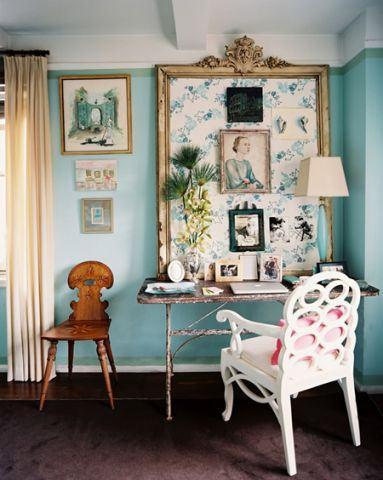decoração com estilo provençal para quarto