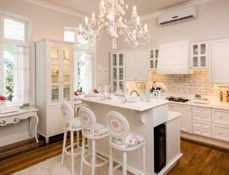 decoração de cozinha com estilo provençal
