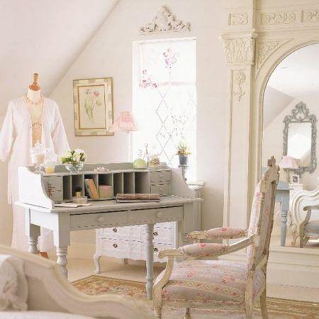 decoração de quarto de casal com estilo provençal