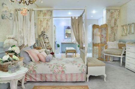 decoração para quarto de menina com estilo provençal