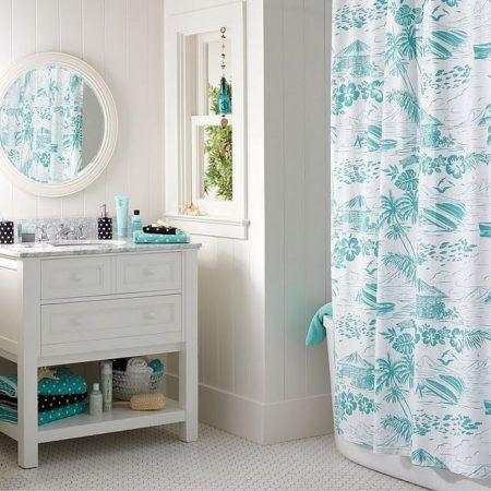decoração simple de banheiro com estilo provençal