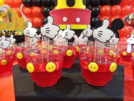 enfeites do Mickey para aniversário docinhos