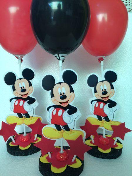 enfeites do Mickey para aniversário em balões