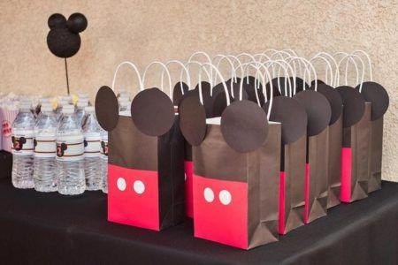 enfeites do Mickey para aniversário lembrancinhas criativas