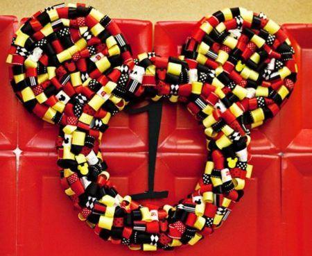 enfeites do Mickey para aniversário para porta