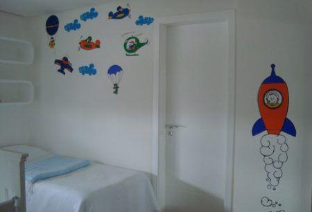 fotos de adesivos para quarto infantil de menino
