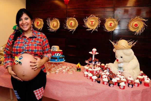 Organizando Um Chá De Bebe Com Festa Junina Bela Feliz