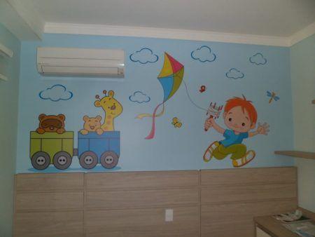 imagens de adesivos para quarto infantil de meninos