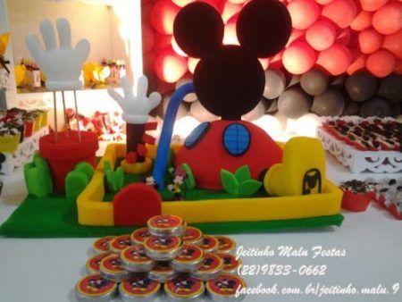 lindos enfeites do Mickey para aniversário