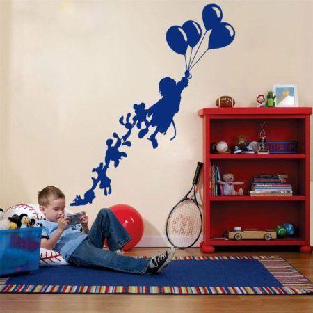 modelos de adesivos para quarto infantil de menino