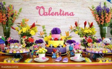 modelos de decoração de cha de bebe com festa junina