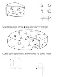 atividades sibalicas com a letra Q para imprimir
