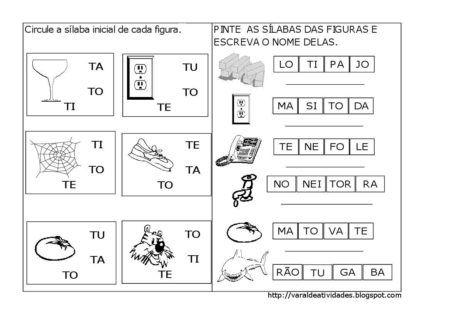 atividades sibalicas com a letra R para imprimir