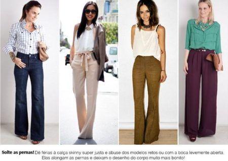 calça social feminina como usar