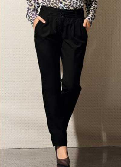 calça social feminina preta