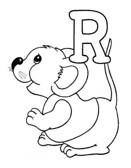 desenhos com animais que começam com letra r