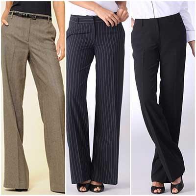 modelos de calças social feminina