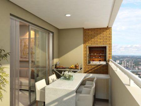 salas com varanda gourmet integrada