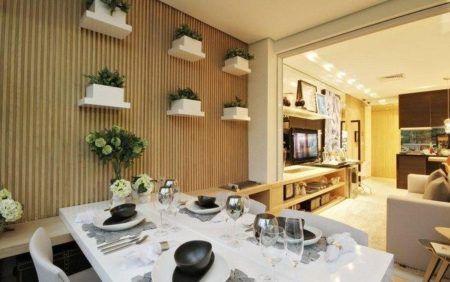 salas com varanda gourmet modernas