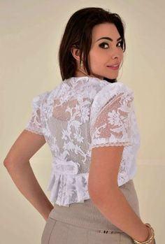 boleros femininos com vestido branco de renda