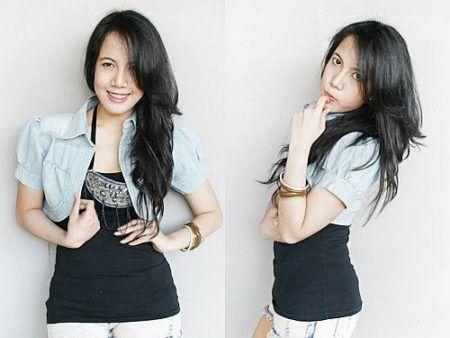 boleros femininos jeans claro curto