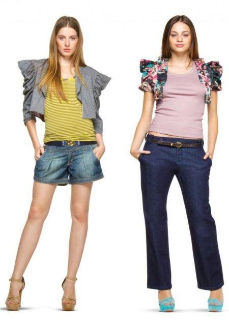 boleros femininos jeans difrentes modelos