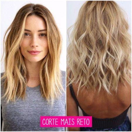 cabelos messy hair com corte mais reto