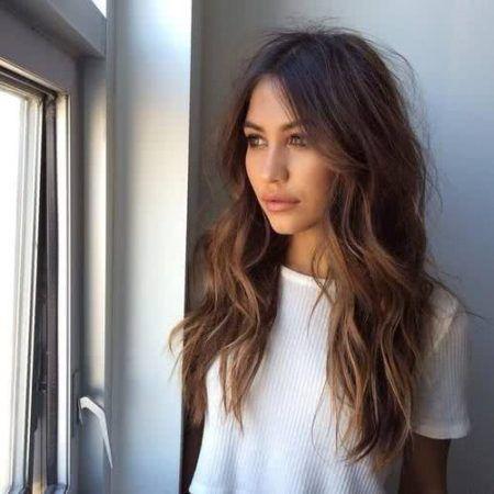 cabelos messy hair em cabelo longo