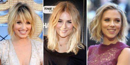 cabelos messy hair para loiras
