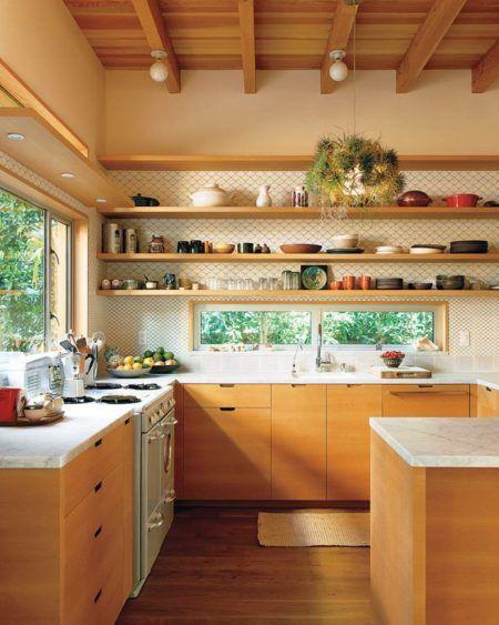 como reformar uma cozinha de madeira clara