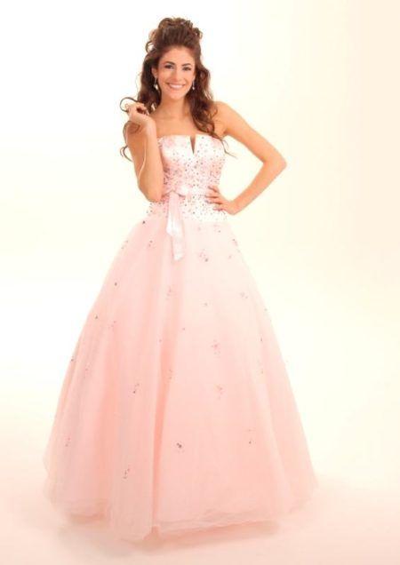 vestidos para aniversário de 15 anos rosa bebê