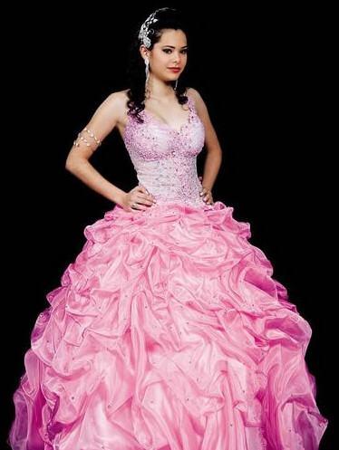 vestidos para aniversário de 15 anos rosa