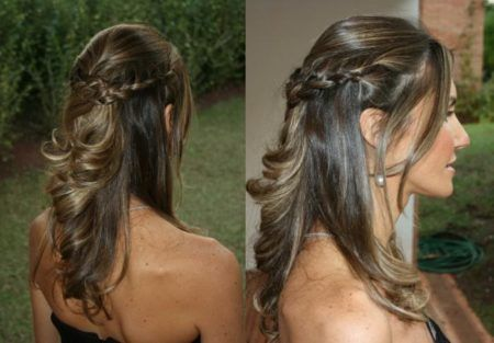 penteados com trança para casamento