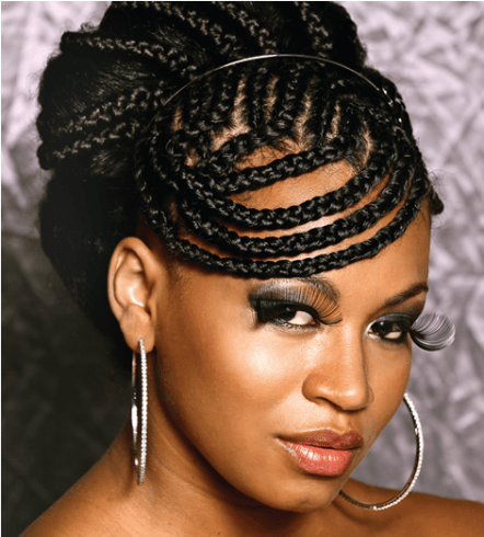 penteados para cabelos afro para madrinha de casamento