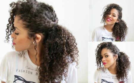 penteados-para-cabelos-crespos-rabo-lateral