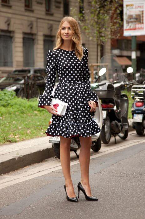 Vestidos de BOLINHA da moda, veja os modelitos