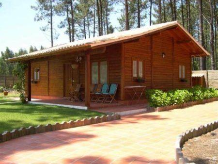 Casas de madeira ideias modelos projetos bela feliz - Casas madera portugal ...