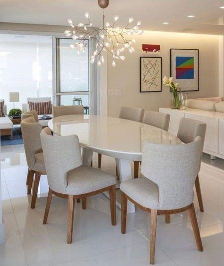 Tipos de mesa de jantar escolha o formato certo bela feliz - Mesas redondas modernas ...