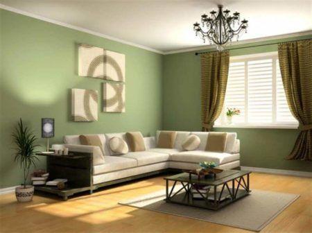 Cores para sala de estar tv e jantar inspire se nas - Pinturas modernas para interiores ...