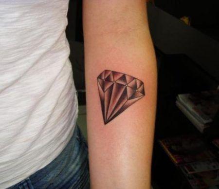 Tatuagem De Diamante Veja As Areas Do Corpo Pra Fazer Bela Feliz