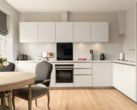 #450360 COZINHA MODERNA planejada armários balcão cores e modelosBela & Feliz 450x360 px Armario De Cozinha Em L #3004 imagens