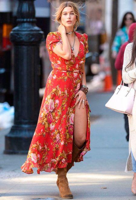 Como Usar Vestido Com Bota Tend 234 Ncias Para Ficar Elegante