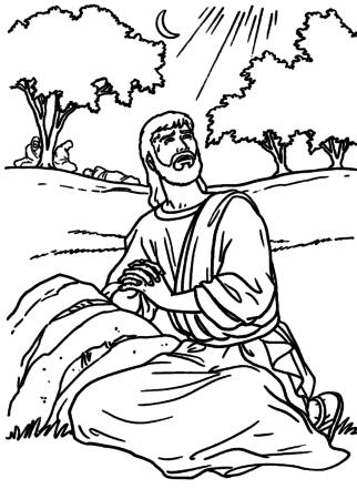 Desenhos bíblicos do NOVO TESTAMENTO para imprimir e colorir