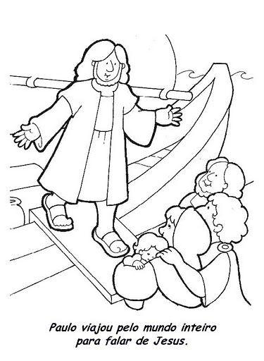Desenhos Biblicos Do Novo Testamento Para Imprimir E Colorir