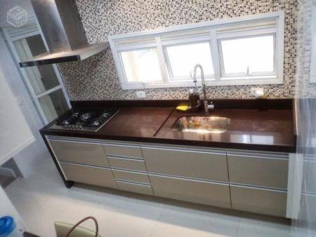 Resultado de imagem para pia de cozinha com armário planejado